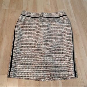 Cleo tweed skirt